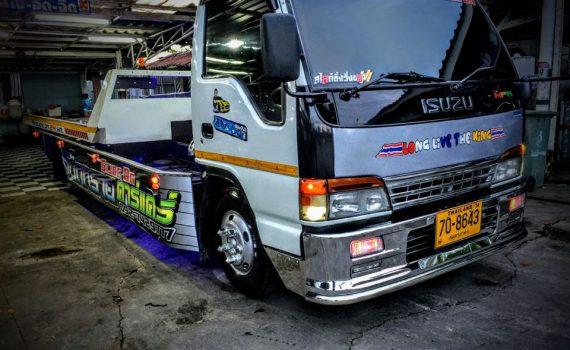 รถยกรถสไลด์ชะอำ บริการรถยกเพรชบุรี รถยกชะอำ ติดต่อได้ 24 ชม (10)