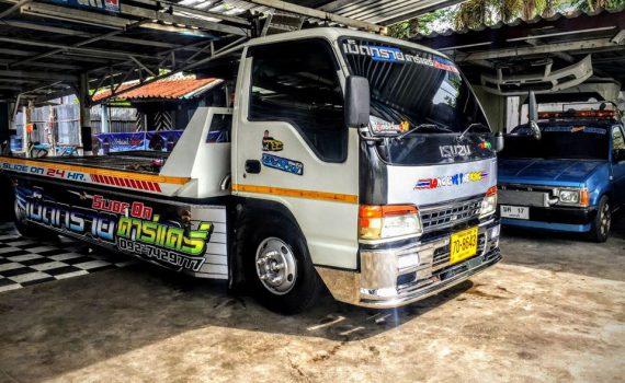 รถยกรถสไลด์ชะอำ บริการรถยกเพรชบุรี รถยกชะอำ ติดต่อได้ 24 ชม (20)