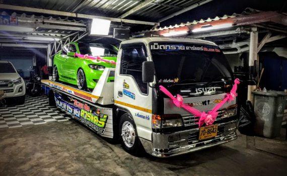 รถยกรถสไลด์ชะอำ บริการรถยกเพรชบุรี รถยกชะอำ ติดต่อได้ 24 ชม (3)