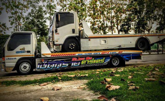 รถยกรถสไลด์ชะอำ บริการรถยกเพรชบุรี รถยกชะอำ ติดต่อได้ 24 ชม (7)